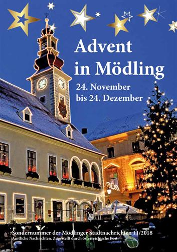 Mödlinger Advent 2018 Lädt Zum Besuch Stadtgemeinde Mödling